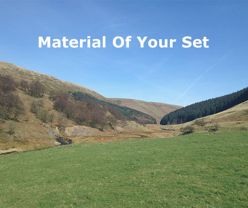 How does the material of your set impact it?